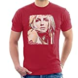 Sidney Maurer Original Portrait of Britney Spears Men's T-Shirt
