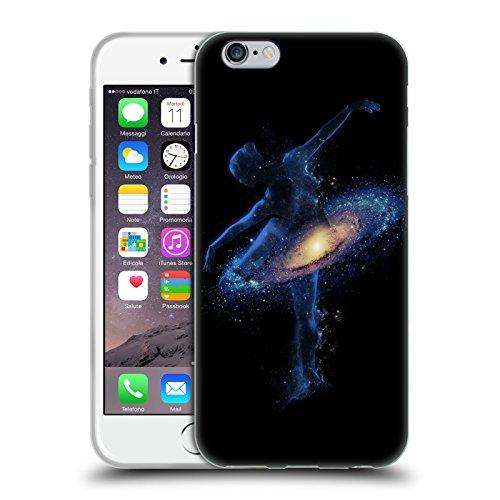 Head Case Designs Officiel Robert Farkas Danse Cosmique Espace Coque en Gel Doux Compatible avec iPhone 6 / iPhone 6s