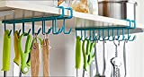 #8: MosQuick Multifunctional Metal Ceiling Hook (Blue or Green) (Set of 2 pcs-24 Hooks)