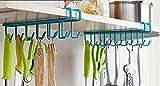 #4: MosQuick Multifunctional Metal Ceiling Hook (Blue or Green) (Set of 2 pcs-24 Hooks)