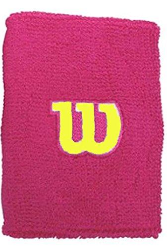 Wilson Extra Wide W polso da Tennis, uomo, UOMO, Extra Wide W, OSFA