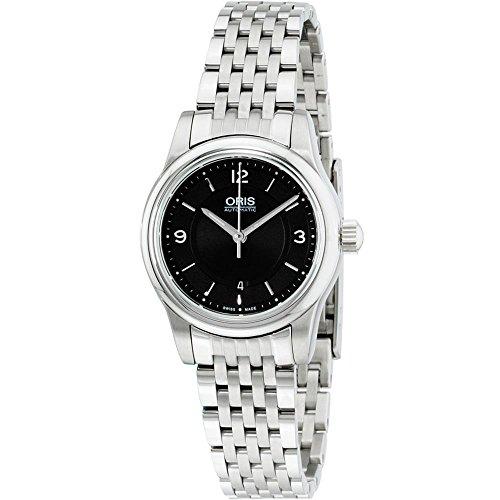 Oris Women's Classic 29mm Steel Bracelet Automatic Watch 01 561 7650 4034-MB