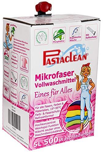 Pastaclean Mikrofaser Vollwaschmittel 5 Liter