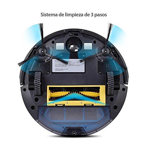 iLife A4S Roboter Staubsauger 31cm x 31cm x 7.6cm grau - 2