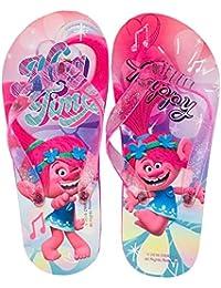 Chanclas de goma para niña Flip Flop Glitterate Trolls Poppy 2891