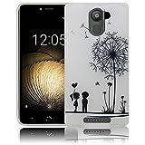 bq Aquaris U / bq Aquaris U Lite / bq Aquaris U Plus Passend Pusteblume Handy-Hülle Silikon - staubdicht, stoßfest & leicht - Smartphone-Case
