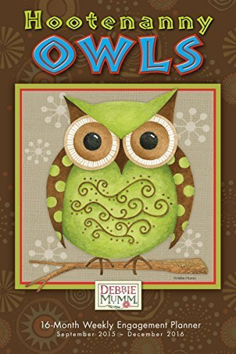 Hootenanny Owls 2016 Engagement Calendar by Debbie Mumm (2015-07-25) - 2015 Debbie Kalender Mumm