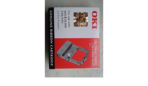 Oki Microline 590 Original Oki 09002316 Ml 590 Black Nylonband Bürobedarf Schreibwaren