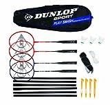 Dunlop Play Smash 4Player Badminton Set by Dunlop