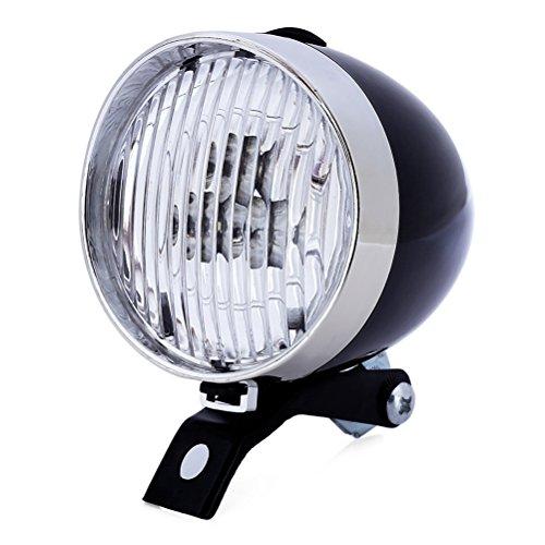 VORCOOL LED Fahrrad Frontlicht Fahrradscheinwerfer Fahrradlampe Fahrradbeleuchtung Wasserdicht für Mountainbike BMX Rennrad(Schwarz )