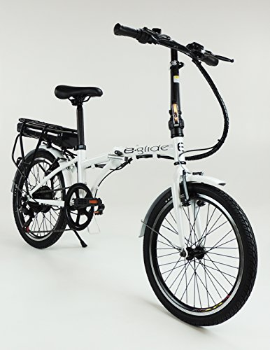 e.glide E bike ELECTRIC BICYCLE 20″ Folding Bike