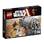 When they are in danger, load them into the droid escape pod, close the hatches and launch to safety. After landing on the nearest planet, can you keep them safe from the jawas with their ion blasters. That's for you to decide. Includes 3 mini figure...