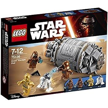 LEGO - 75136 Star Wars: Capsula di Salvataggio Droid