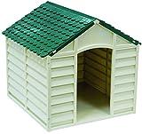 Blinky 7931510 Casette per Cani Dog-Kennel PP Grande Bianco/Verde