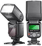 Neewer® VK750 II i-TTL Speedlite Flash with LCD Display for Nikon D7100 D7000 D5200 D5100 D5000 D3000 D3100 D300 D300S D700 D600 D90 D80 D70 D70S D60 D50 and Other Nikon DSLR Cameras