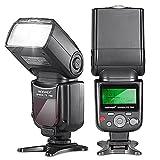 #7: Neewer VK750 II i-TTL Speedlite Flash with LCD Display for Nikon DSLR Cameras