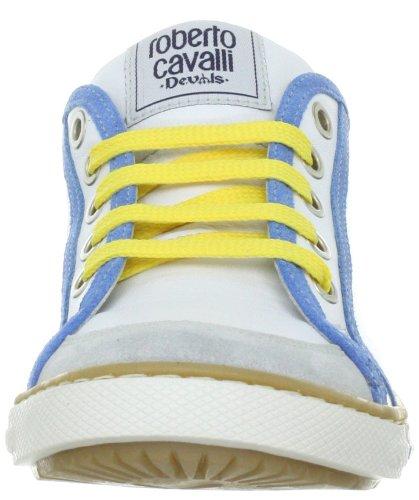 Roberto Cavalli Devils AGILA MDC2677, Jungen Sneaker Grau (GRIGIO/BIANCO)