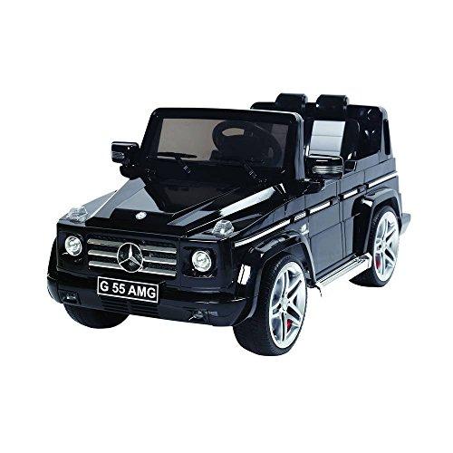 Autostyle 9024985 Batterie-Auto Mercedes G55 AMG Schwarz-12V-inkl. MP3 und Fernbedienung-ab 3 Jahr - Amg-batterie