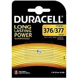 Duracell 376/377 piles de montre d'oxyde d'argent , bouton de cellules