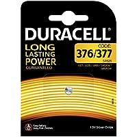 Duracell 376/377 piles de montre d'oxyde d'argent, bouton de cellules