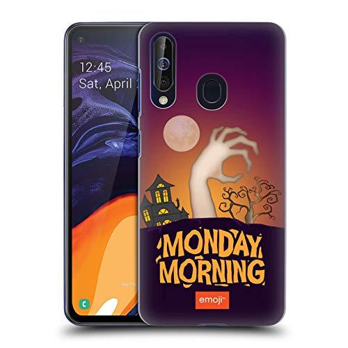 Head Case Designs Offizielle Emoji® Montagmorgen Halloween Parodien Harte Rueckseiten Huelle kompatibel mit Samsung Galaxy A60 (2019)