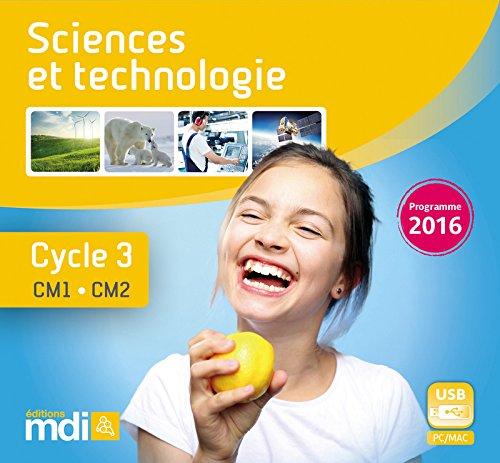 MDI-Clé USB - Ressources numériques Sciences et technologie Cycle 3 - CM1 et CM2