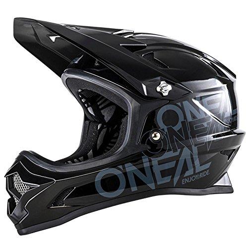 O'Neal Backflip RL2 Evo Kinder Helm Schwarz DH FR MTB Downhill Mountain Bike Fahrrad Fidlock, 0500-31, Größe M