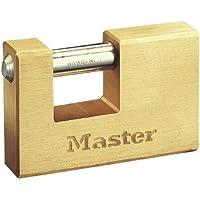 Master Lock 607EURD Lucchetto, Rettangolare, Ottone, 76