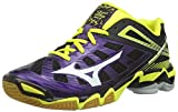 Mizuno W Wave Lightning RX, Damen Volleyballschuhe, Violett (Purple/Plumeria/White/Bolt), 41 EU (7.5 Damen UK)