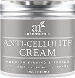 ArtNaturals crema trattamento anticellulite con Retinolo–120ml–contiene caffeina e alghe–rassodante, potenziamento e tonificazione–Cancella le fossette dalle gambe, braccia, addominali e glutei