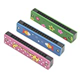#6: SET of 2 | Cute 32 Holes Children's Mouth Organ | Kids Toy | Beginners Harmonica | by DAISYLIFE