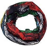 Pañuelo bandana multiuso Calavera Bandana multifunción, elástica, perfecta como braga para el cuello o para hacer yoga, senderismo, montar a caballo, montar en moto, etc., camuflaje (G)