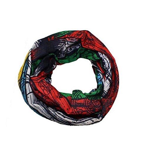 Pañuelo bandana multiuso Calavera Bandana multifunción