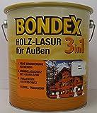 Bondex 3in1 Holzlasur für außen 2,50 Liter farblos