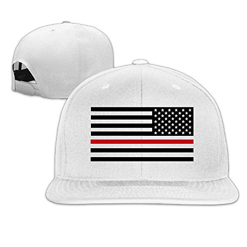 ecfe173b1bcf Muscle Run Cap Thin Red Line Flag Firefighter Fashion Snapback Baseball Cap  Flatted Brim Hat.