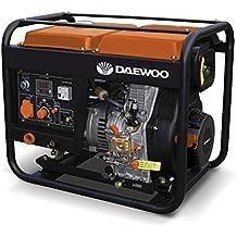 Daewoo GDAW190AC - Motosoldadora con generador a gasolina de 420 cc, 240V, 15HP con arranque eléctrico