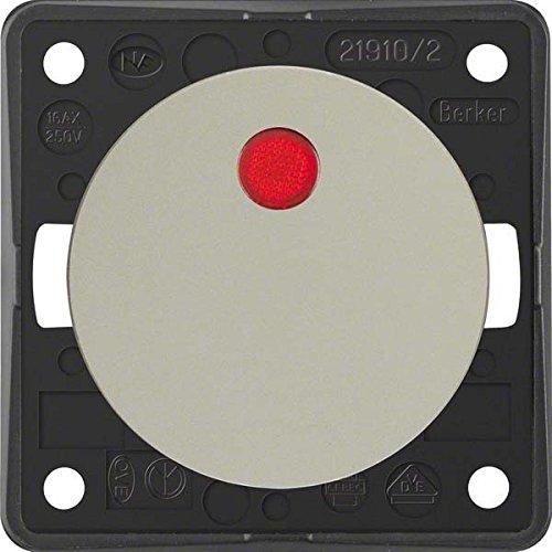 Hager 937522568 Interruptor de luz Aluminio - Interruptores de luz (Aluminio, IP44,...