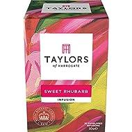 Taylors & Royal Botanic Gardens Kew Sweet Rhubarb 20 Tea Bags (Pack of 3, 60 bags in total)
