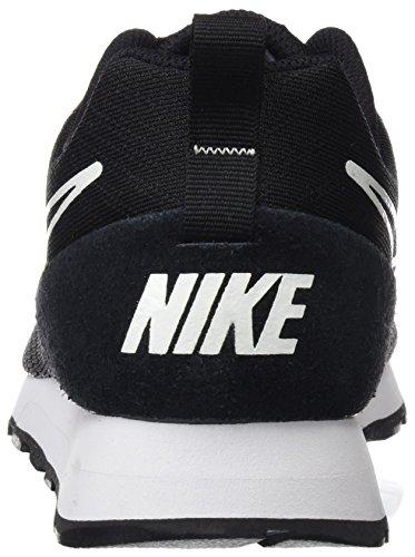 Nike MD Runner 2 BR, Scarpe da Ginnastica Basse Uomo Multicolore (002 Negro Mayo)
