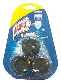 Harpic Flushmatic In-Cistern Toilet Cleaner, 150g (Aquamarine)