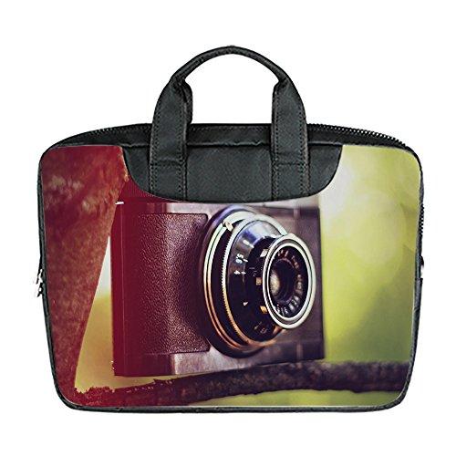 Benutzerdefinierte 15 Zoll importiert Nylon wasserdicht Stoff Laptop tragbare Schulter Messenger Bag Diy Klassische Kamera Design