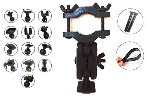 ShipeeKin Ultimative Auto KFZ Rückspiegel Dash Cam Camcorder Halterung mit 13 Arten Gelenke Adapter Kit für DVR Kamera Camcorder/Fahrrad Klammern für GPS Action Kamera