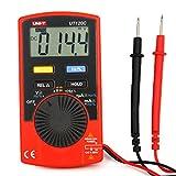UNI-T UT120C multimetro digitale AC / DC Tensione Corrente Resistenza Capacità Frequenza Tester auto Range formato tascabile