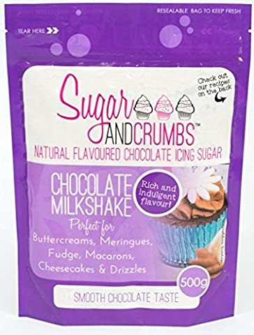 Chocolate Milkshake Natural Flavoured Icing Sugar for Cakes and Bakes
