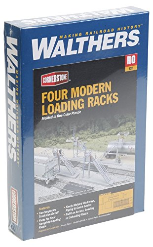 Walthers Cornerstone Four Modern Loading Racks