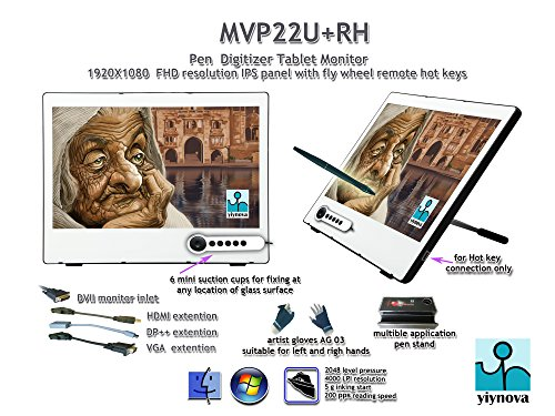 Cheap Yiynova – MVP22U+RH 21.5-Inch Tablet Monitor with IPS Full HD Panel