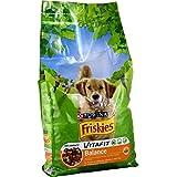 Friskies Chien Balance Croquettes pour chien adulte Poulet & Légumes ajoutés 10 kg