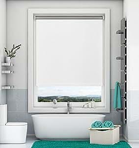 magiea store enrouleur occultant thermique blanc 60 x 170 cm store occultant sans per age. Black Bedroom Furniture Sets. Home Design Ideas