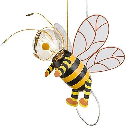 Chambre d'enfant abeille à miel clair pendentif suspendu lampe aile Hornet Globo 15725