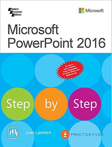 Microsoft Powerpoint 2016 Step By Step par Lambert